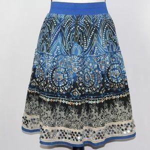 dressbarn full midi skirt for women